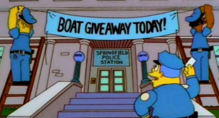 Как -Симпсоны- помогли полиции задержать 21 преступника