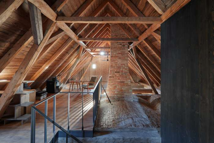 Загородный дом в Чехии от архитектора Ленки Миковой