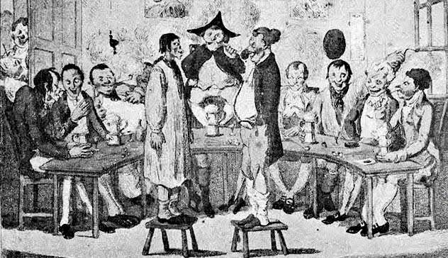 Странные клубы по интересам, которые существовали несколько веков назад. Часть 1