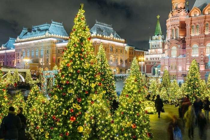 Новогодняя сказка в столице