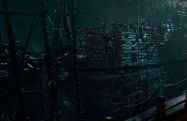 Пираты Карибского моря до и после спецэффектов