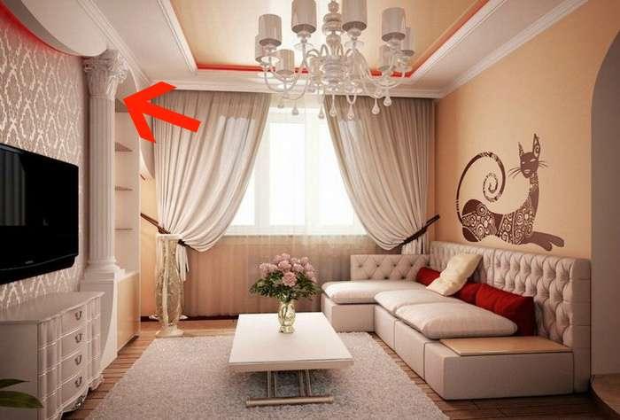 Грубейшие ошибки дизайна, которые выдают с головой безвкусицу в квартире (17 фото)
