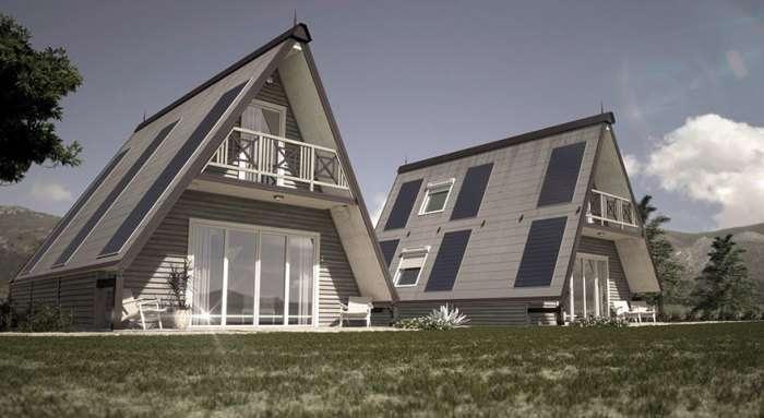 Появился полноценный дом, который возводят трое рабочих всего за 6 часов
