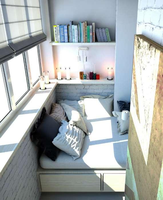 18 реальных идей, которые подтолкнут разгрести завал на балконе и взяться за ремонт