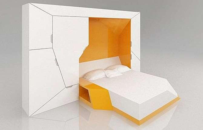 15 кроватей-трансформеров, которые освободят много места в помещении