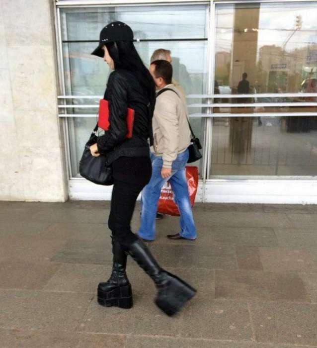 Люди, которые своим экстравагантным стилем сражают окружающих наповал (18 фото)