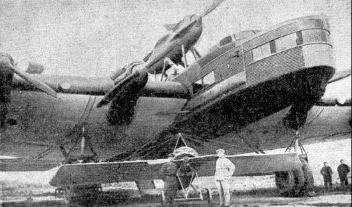 -Максим Горький- - гигантский советский самолет, который повторил судьбу Титаника