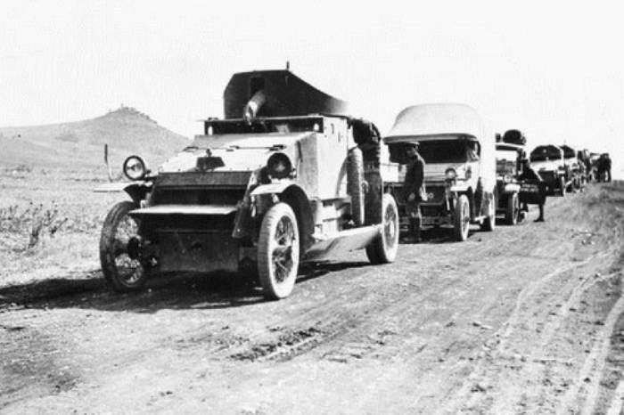 10 очень странных, но эффективных военных транспортных средств времен Первой мировой войны