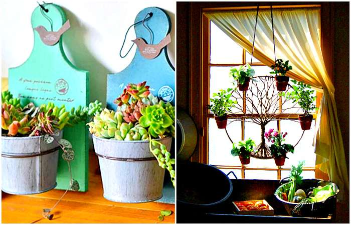 Блестящие идеи, которые помогут превратить дом в цветущий оазис даже зимой (18 фото)