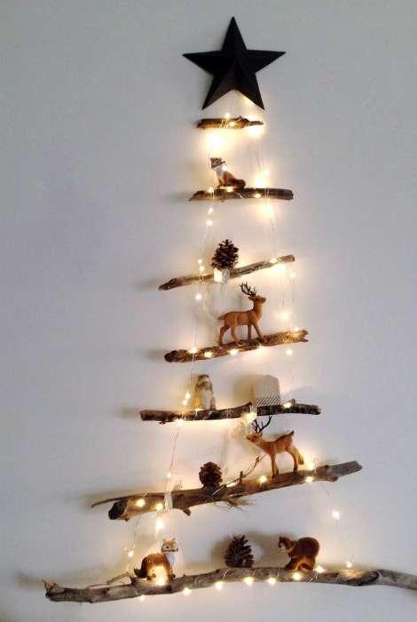 Эксклюзивные елки для праздничного настроения дома или в офисе (20 фото)