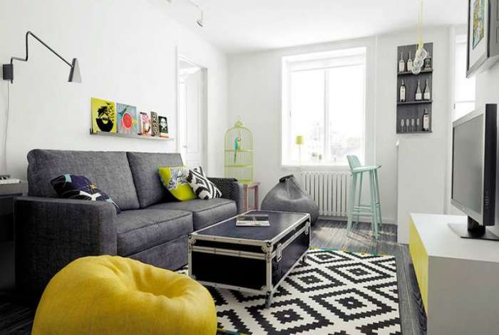 17 актуальных идей обустройства гостиной, которые подойдут нашим -хрущевкам- или -панелькам-