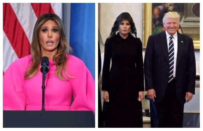 10 противоречивых образов Меланьи Трамп, которые вызывают вопросы и недоумение