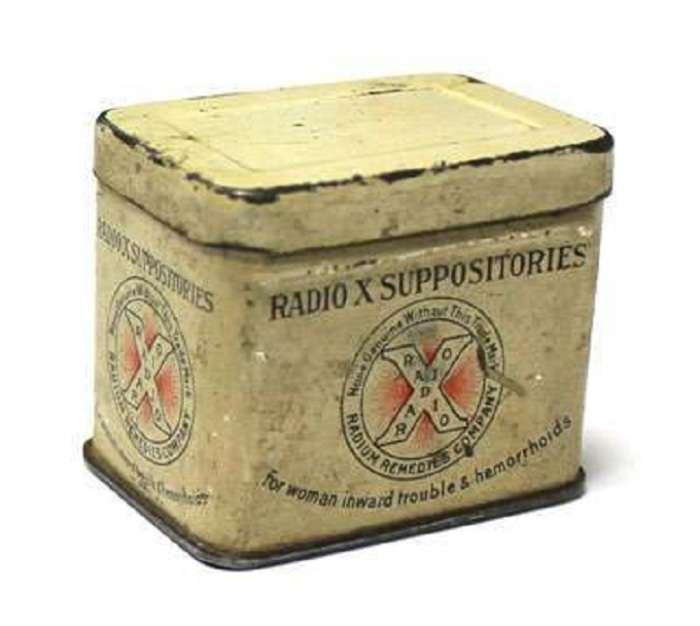 7 вариантов использования радиоактивных веществ в быту в ХХ веке, которые -сломают шаблон- современникам