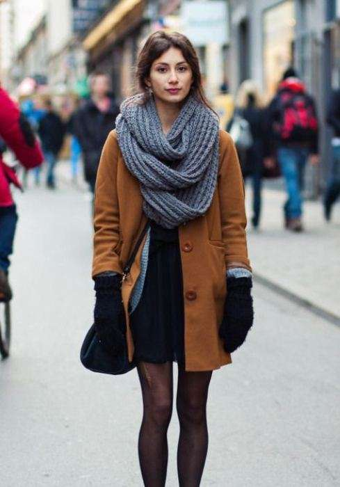 7 вариантов, как завязать шарф-снуд (+ видео-инструкция)