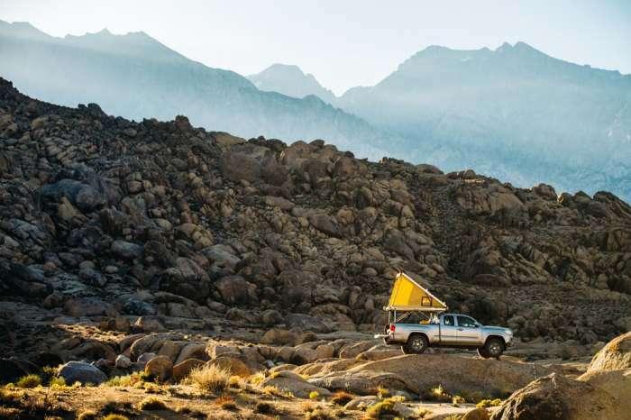 Палатка Go Fast превратит любой автомобиль в дом на колесах