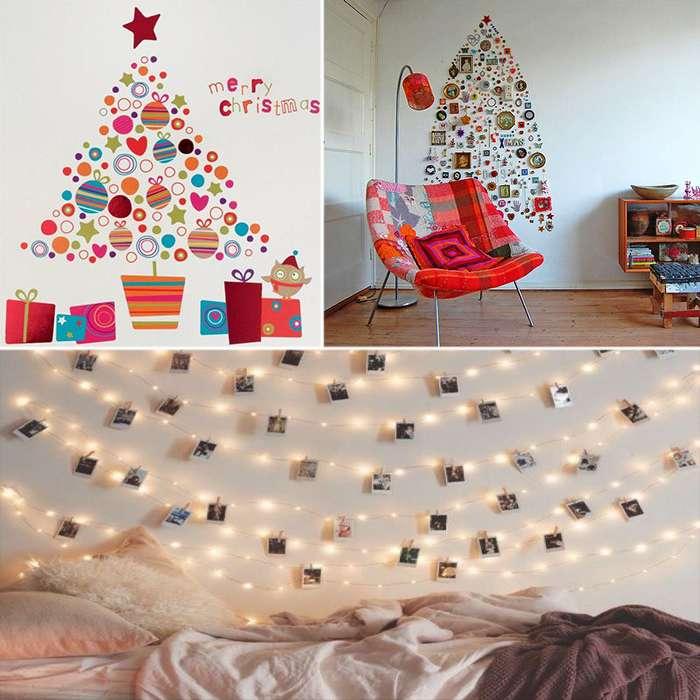 Идеи новогоднего декора, которые -вдохнут- праздник в каждый дом (21 фото)