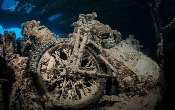 Подводное кладбище мотоциклов -Тистлегорм- - настоящая Мекка для ныряльщиков