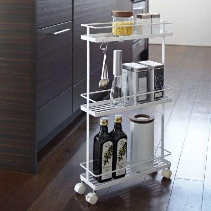 13 примеров хранения вещей для маленькой кухни, чтобы все было под рукой