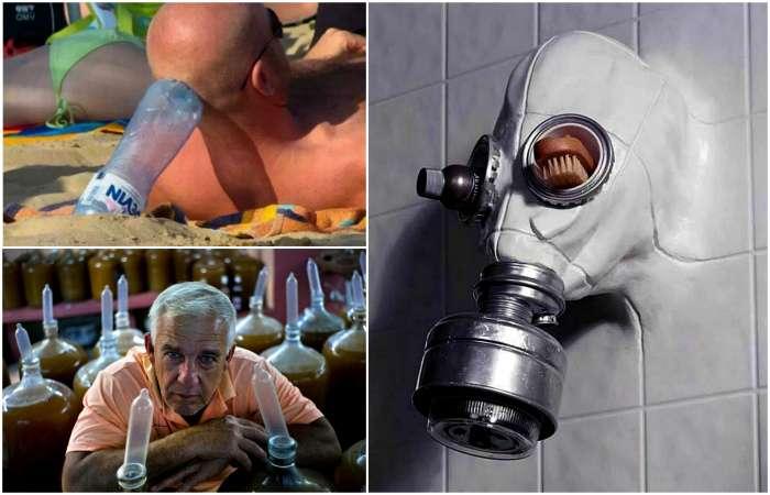 Забавные, но чуточку абсурдные примеры альтернативного использования привычных вещей (17 фото)