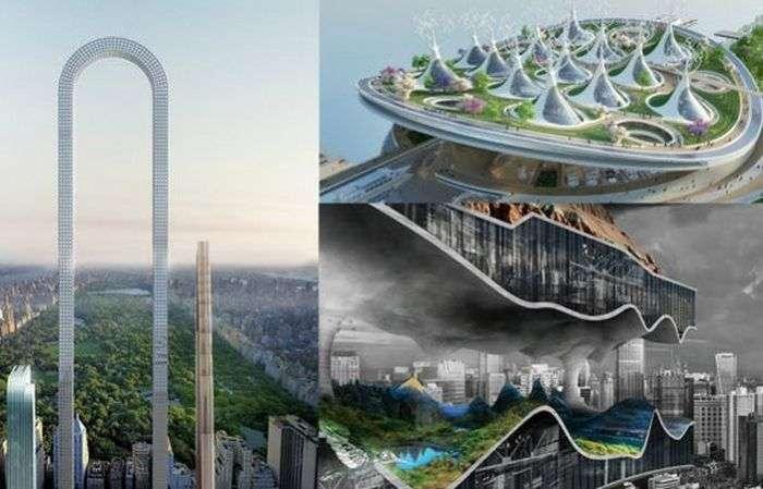 Подводные рестораны, башни-деревья и висячие небоскребы: главные архитектурные концепты 2017 года