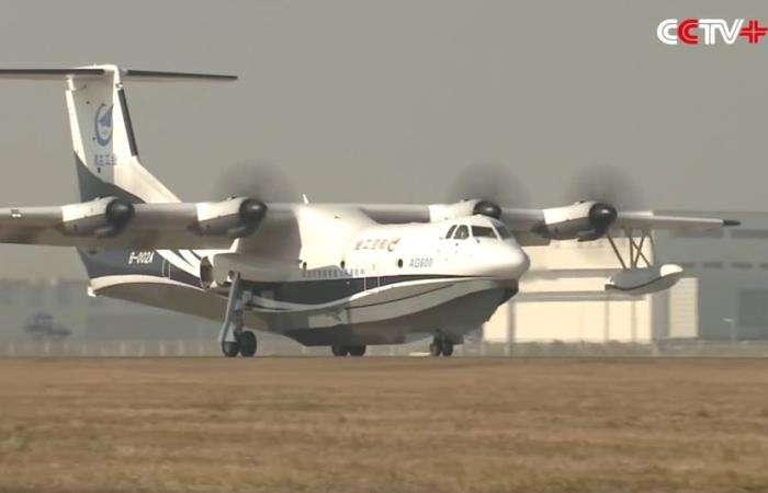 В Китае создан самолет-амфибия, который не знает себе равных