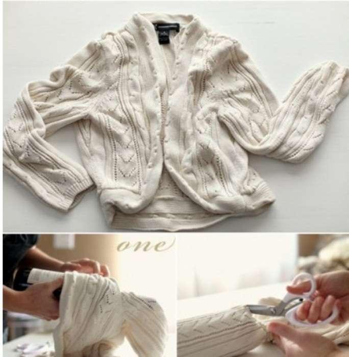 Что и как можно сделать из старого свитера, когда его жалко выбросить: 10 полезных советов