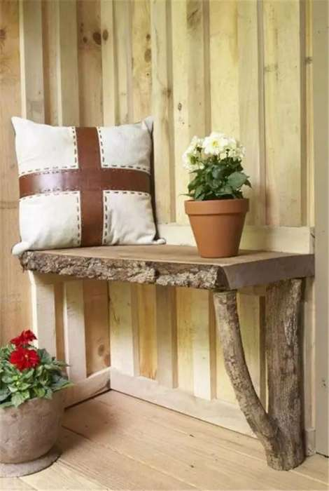 Мебель из натурального дерева, которая наполнит дом теплом и ароматом леса (19 фото)