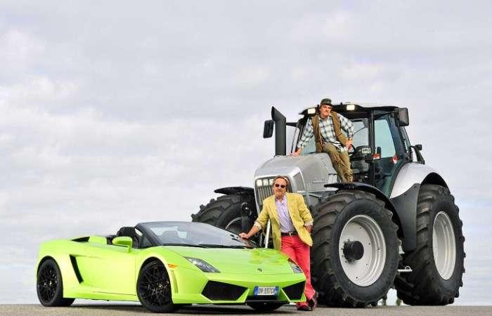 От Lamborghini до Mitsubishi: компании, которые делают трактора не хуже спорткаров