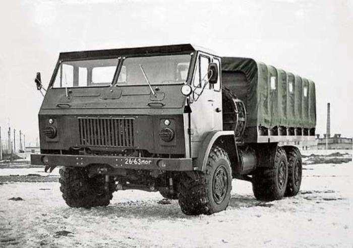 Тягачи КрАЗ, которые обогнали свое время, но так и не вышли в серийное производство