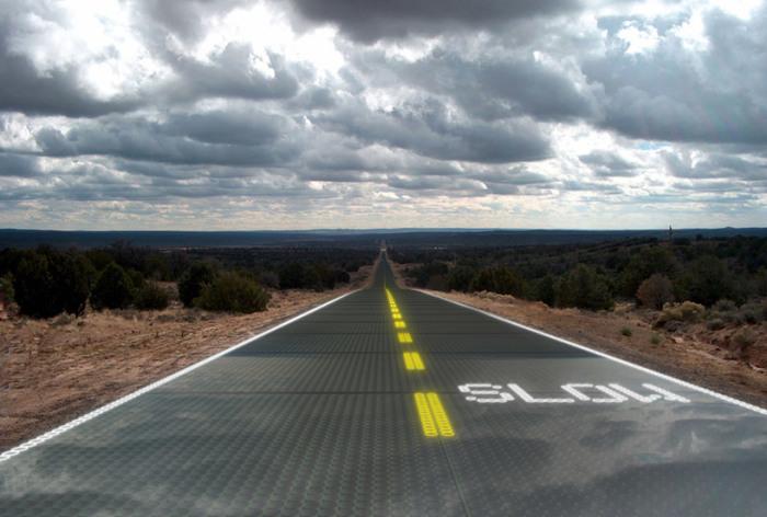 В Китае открывается дорога, которая сможет заряжать электрокары на ходу