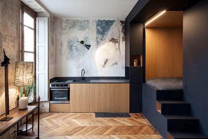Практичные решения для квартиры-студии, которые позволят забыть обо всех неудобствах