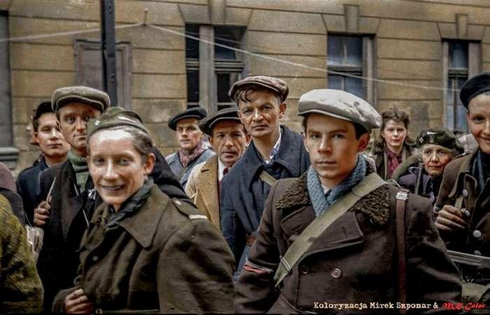 Лихие поляки во время Варшавского восстания