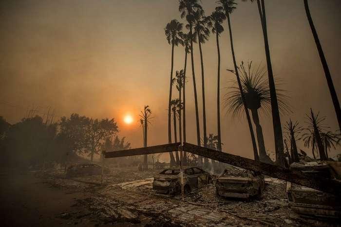 Филиал огненного ада в Калифорнии