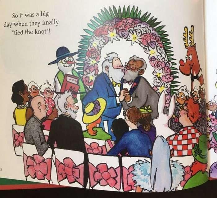 Автора книги о очень нетрадиционном Санта-Клаусе затравили
