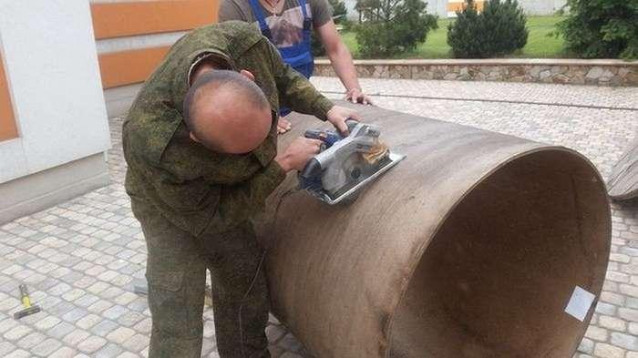 Умелые руки или Вторая жизнь большой деревянной бобины