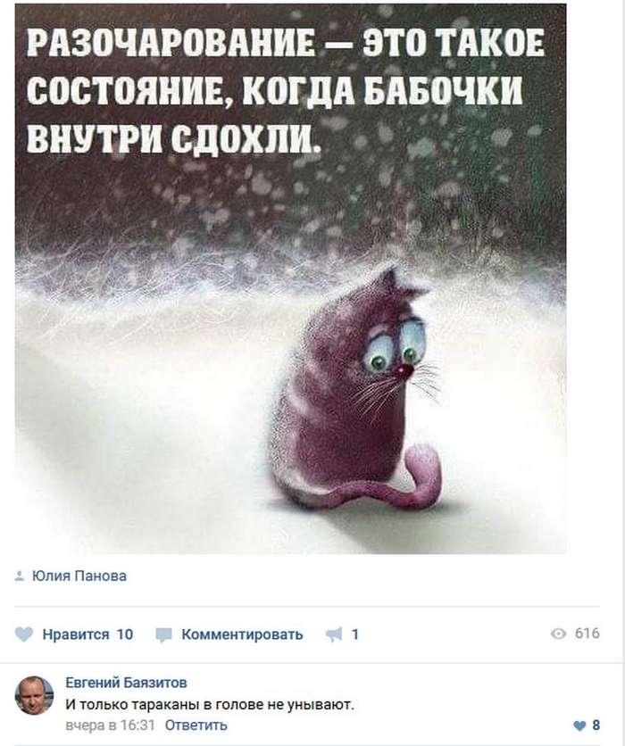 Позитив наше все &8212; Смешные комментарии из соцсетей (49 фото)