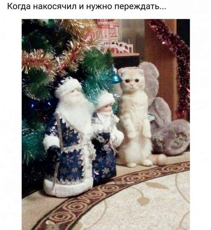 Вовсе даже не ванильные новогодние картинки