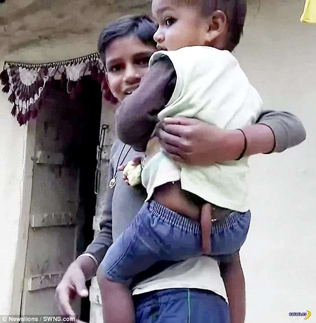 В Индии очередной -божественный- ребёнок