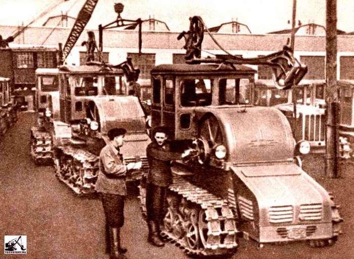 Советские электрические тракторы