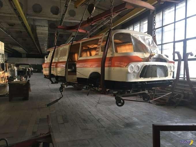 ЗИЛ-118 -Юность- могут вернуть в производство!