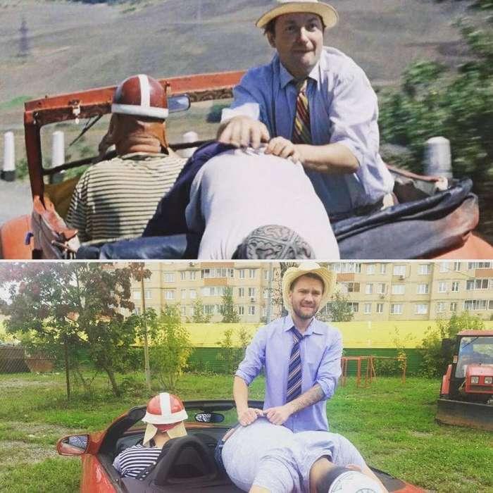 Косплеер из России пародирует сцены из фильмов, и это невероятно смешно! (18 фото)