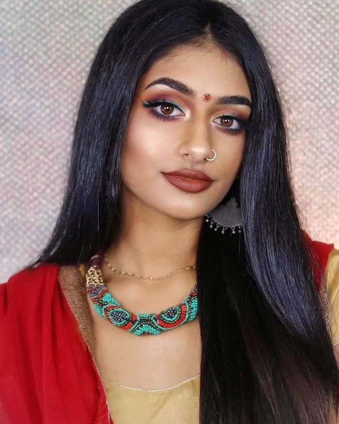 Индийская модель создала восточные образы диснеевских принцесс (9 фото)