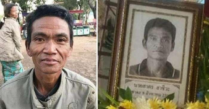 Таец вернулся с заработков домой и узнал, что умер 7 месяцев назад (3 фото)