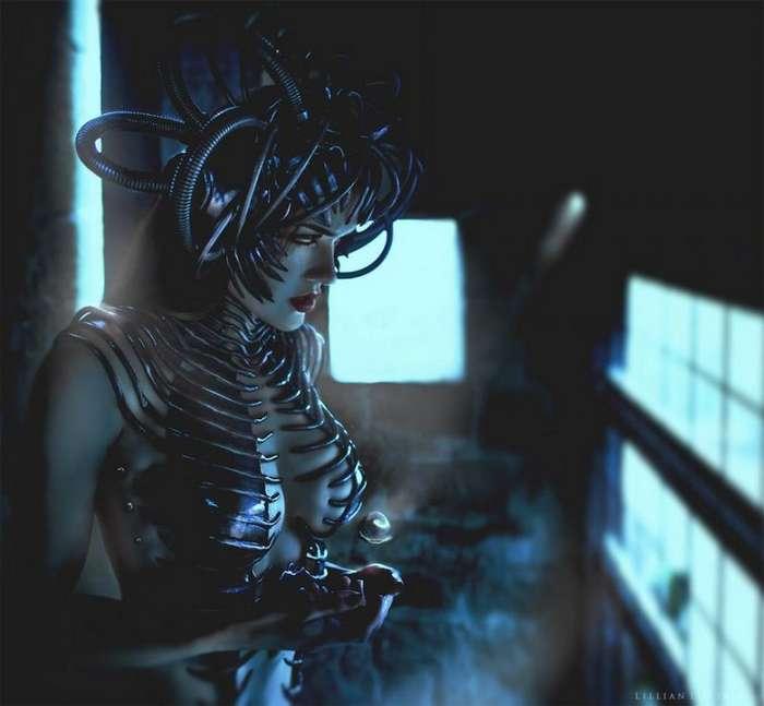 Фантазия + реальность. Сказочно-красивые портреты от цифрового фотографа Лиллиан (10 фото)