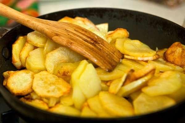 Самая вкусная жареная картошка