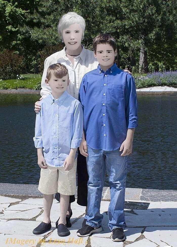 Такой жуткой семейной фотосессии вы ещё не видели! (6 фото)