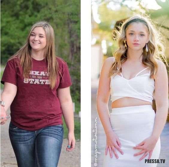 Девушка похудела на 36 кг и начала новую жизнь (5 фото)