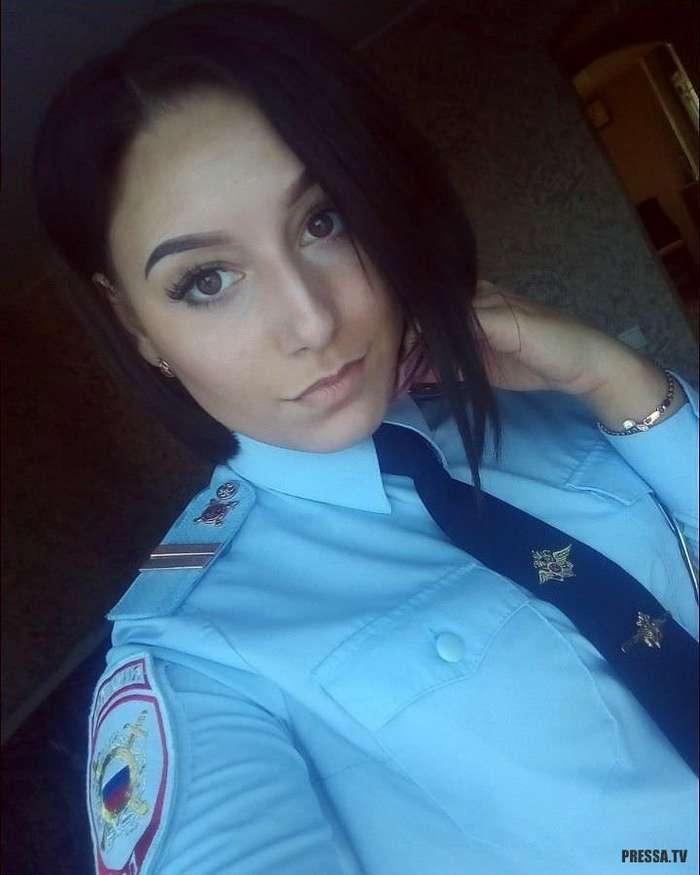 Очаровательные девушки из Полиции РФ (38 фото)