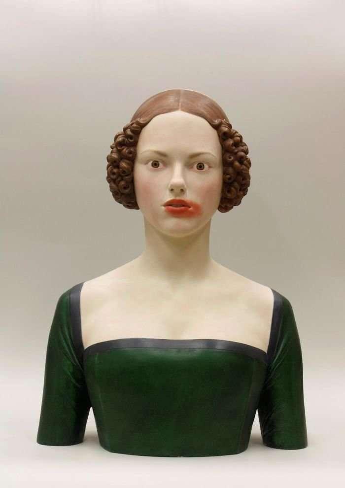 Если бы скульптуры эпохи Возрождения -вели себя- по-современному-16 фото-