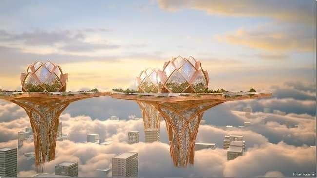 Дома будущего, какими их видят в разных странах мира-6 фото-